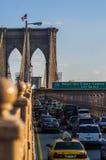 桥梁布鲁克林 免版税图库摄影