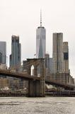 2桥梁布鲁克林 免版税库存图片