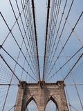 桥梁布鲁克林nyc 免版税库存图片