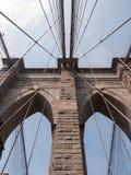 桥梁布鲁克林nyc 库存照片