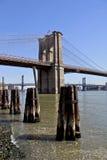 桥梁布鲁克林nyc 图库摄影
