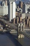 桥梁布鲁克林nyc 免版税图库摄影