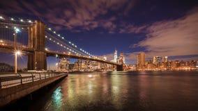 桥梁布鲁克林nyc 库存图片