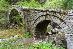 桥梁希腊 库存图片