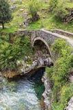 桥梁希腊 库存照片