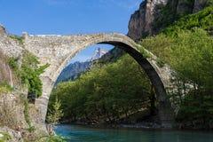 桥梁希腊 免版税图库摄影