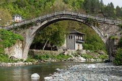 桥梁希腊 免版税库存照片