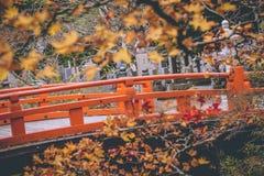 桥梁庭院日语 图库摄影