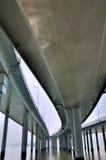 桥梁建筑结构 免版税库存照片