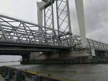 桥梁建筑 免版税库存照片