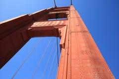 桥梁弗朗西斯科门金黄圣 免版税图库摄影