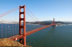 桥梁弗朗西斯科门金黄圣 免版税库存照片