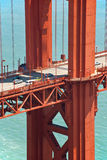 桥梁弗朗西斯科门金黄柱子圣 库存照片