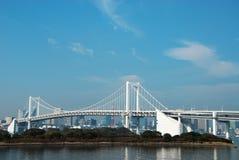 桥梁彩虹 免版税图库摄影