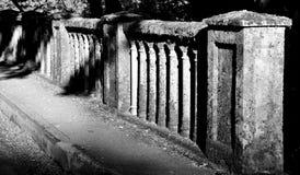 桥梁影子 库存照片