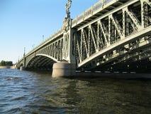桥梁彼得斯堡st 库存照片
