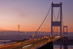 桥梁微明 免版税库存图片