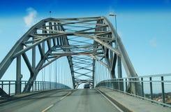 桥梁悬臂 免版税图库摄影