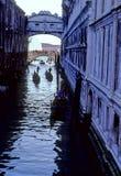 桥梁意大利威尼斯 库存照片