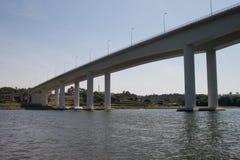桥梁执行freixo 免版税库存照片