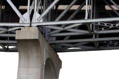 桥梁技术支持 免版税库存图片