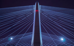 桥梁抽象背景 免版税库存照片
