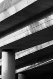 桥梁接近的照片结构 图库摄影