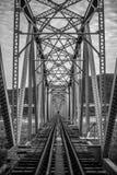 桥梁接近的照片结构 库存图片