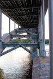 桥梁斯德哥尔摩 免版税库存照片