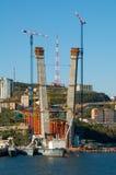 桥梁新的技术支持 免版税库存照片