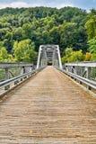 桥梁新的河 免版税图库摄影
