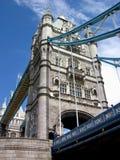 桥梁日伦敦塔 库存照片