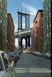 桥梁曼哈顿纽约 免版税图库摄影