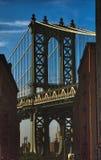 桥梁曼哈顿 纽约 免版税库存照片