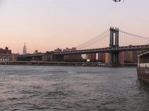 桥梁曼哈顿 免版税图库摄影