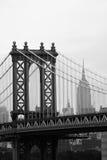 桥梁曼哈顿 库存图片