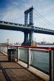 桥梁曼哈顿 图库摄影