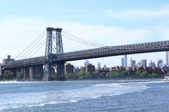桥梁曼哈顿 免版税库存照片