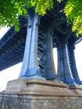 桥梁曼哈 库存照片