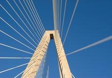 桥梁木桶匠河 库存照片