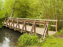 桥梁木头 免版税图库摄影