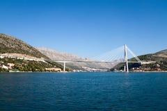 桥梁杜布罗夫尼克市 免版税库存照片