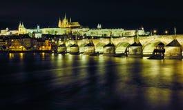 桥梁查尔斯捷克布拉格共和国 图库摄影