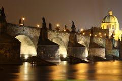 桥梁查尔斯 库存照片