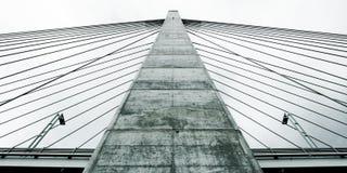 桥梁柱子 库存图片