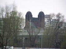桥梁树犹太教堂的图象 照片构成 免版税库存照片