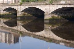 桥梁格拉斯哥街道 免版税库存图片