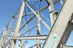 桥梁框架 库存图片
