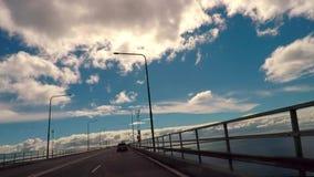 桥梁横穿时间间隔 影视素材