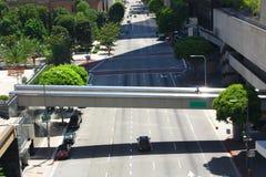 桥梁横穿步行者 免版税库存照片